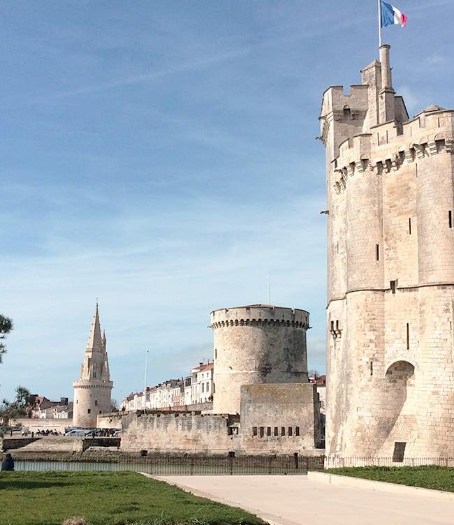 Photographie de la ville de La Rochelle