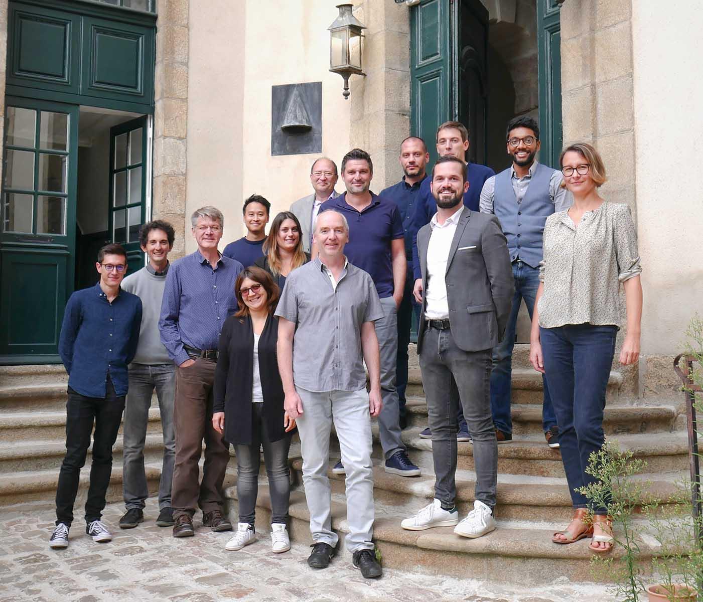 Photographie de l'équipe de Gedivote