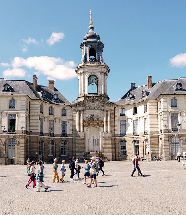 Photographie de la ville de Rennes