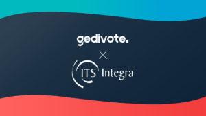Partenariat Gedivote et ITS Integra