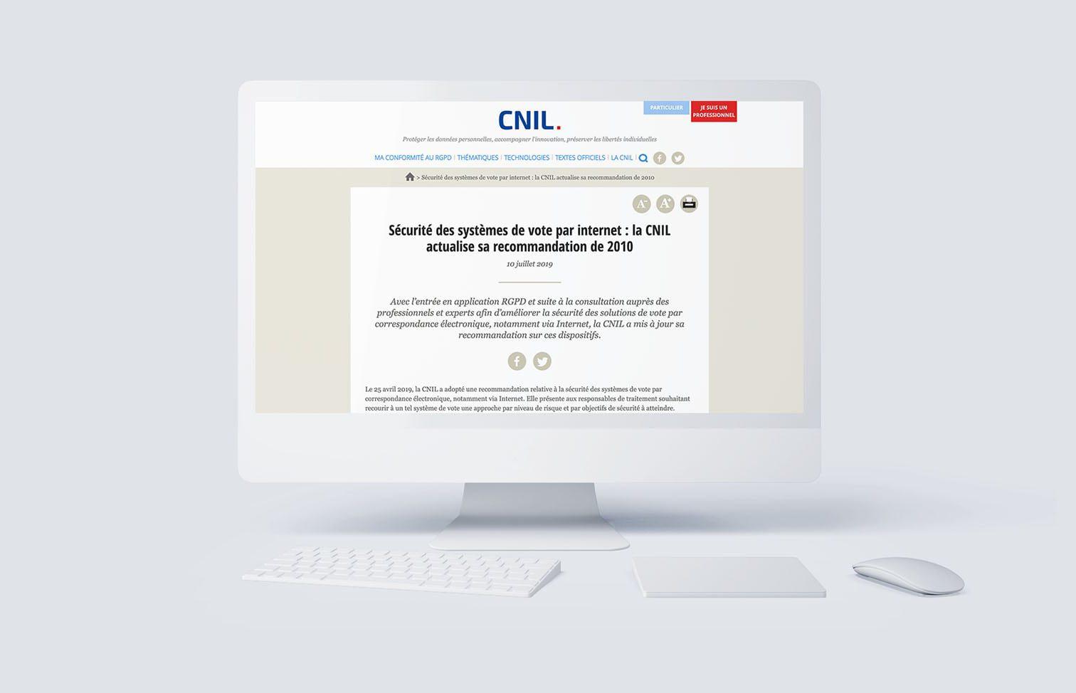 Délibération CNIL 2019